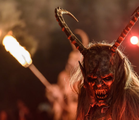 Krampus Parade Will Give You Nightmares